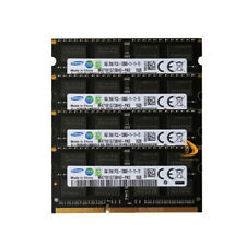 Samsung 4x 8GB 2RX8 DDR3 1600MHz PC3L-12800S Intel SODIMM Laptop RAM Memory CL11