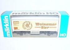 Marklin HO 1:87 German DB GRIMM WOINEMER BIER Advertising REFRIGERATOR Wagon MIB
