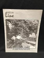 Cast Member Newsletter Disneyland Line Vol 26 #4 JANUARY  1994 THE WELD SHOP