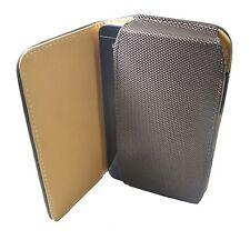 Premium Leather Belt Magnetic Flip Cover SAMSUNG Ace Style Brown