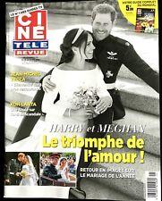 ►Ciné télé Revue 25/05/2018; Harry et Meghan, le triomphe de l'amour !