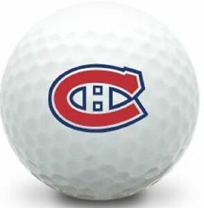 3 Dozen (Montreal Canadians NHL Logo) Nike mint Golf Balls