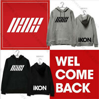 KPOP IKON Showtime Cap Hoodie Sweater Unisex JINHWAN Coat Sweatershirt Jacket