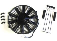"10"" / 25cm Universal Radiator Electric Cooling Fan with Fitting Kit (Slimline)"