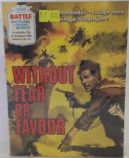 Battle Picture Library Without Fear Or Favour Pocket Comic Book #1639 1983