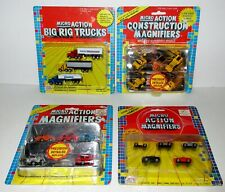 MICRO ACTION MAGNIFIERS LOT OF 18 VEHICLES IN PACKAGE / NEVER PLAYED WITH !!