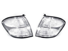 CLEAR Corner Signal Lights Pair For 2000-2004 Toyota Tundra Double Cab Only