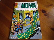 NOVA n° 37 de 1981 SPIDER MAN - SPIDER WOMAN - LES FANTASTIQUES TBE comme neuf.