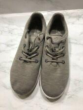 Women's Merinos Gray Australian Merino Wool Shoes Sneakers Size 11 Lace Up