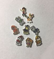 Paw Patrol 9 Floating Charm Necklace Rocky Skye Marshall Chase And More