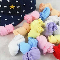 10 Pair Lovely Newborn Baby Girls Boys Soft Socks Mixed Color Unique Design FO