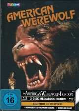 An American Werewolf In London Limited Edition G1 Mediabook (Ger-Vhs-Cover)