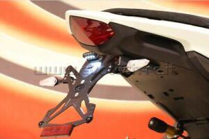 Portatarga alto Evotech per Honda CB 1000 R 08-16/HORNET 600 11-13/CBR 600 F
