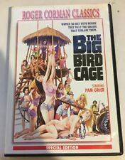 THE BIG BIRD CAGE DVD RARE OOP Roger Corman Pam Grier Region 1 Like New w Insert