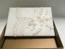 Wedding Guest Book BEVERLY CLARK ELEGANCE COLLECTION  Ivory