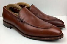 ALLEN EDMONDS 'Steen' Brown Leather Loafers Slip on Shoes 10 / 44 NEW RRP: £345