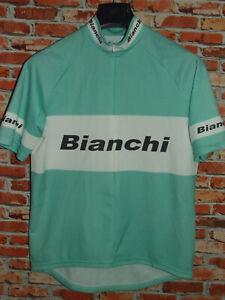 Bike Cycling Jersey Maillot Shirt Cyclism Sport Team Bianchi Size XL