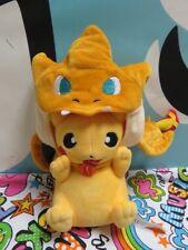 Pokemon 9'' Pikachu With Charizard Hat Plush Soft Toy Stuffed