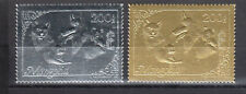 Mongolia Gold and Silver complete set 1 MNH