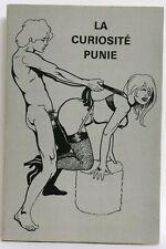 [CURIOSA] La Curiosité Punie Jacques de MARNE illustré vignettes & dessins noir