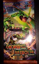 KOREAN Pokemon Card pack of 5 Cards XY EMERALD BREAK