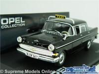 OPEL KAPITAN PII TAXI MODEL CAR 1:43 SCALE BLACK IXO COLLECTION 1959-1964 K8
