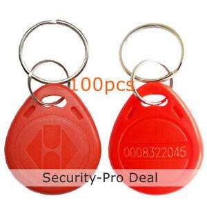 3X 125Khz 13.56Mhz T5577 EM4305 UID Dual Chip RFID Writable Key Tag Token Card