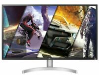 "NEW LG 4K UHD 32"" 3840x2160 GamingMonitor AMD Freesync 4ms 60Hz 32UK50T-W"