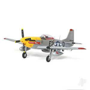 Arrows Hobby P-51 Mustang. Detroit Miss Colour Scheme. PNP with Retracts. 1100mm
