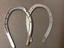 Equine Half Swedge Size 6 Steel ONE PAIR Standardbred Race Horseshoe Farrier