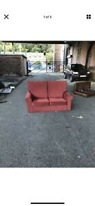 Laura Ashley  2 Seater Sofa in Red Fabric EXDISPLAY