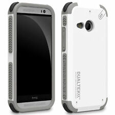 For HTC One Remix / mini 2 Phone Case Cover White Hybrid Shockproof Rubber Shell