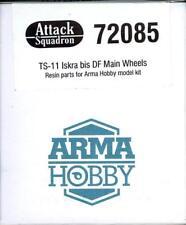 Attack Squadron Models 1/72 TS-11 ISKRA MAIN WHEEL SET Resin Set