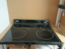 Maytag Whirlpool Range Main Cook Surface Black Part # W10655896 W10696529