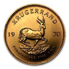 1970 South Africa 1 oz Gold Krugerrand - SKU #44093