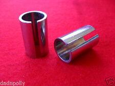 RALEIGH CHOPPER MK I & MK II SISSY BAR TUBES - BRAND NEW - SHINEY CHROME