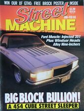 Street Machine Magazine - January-February 1988 - 20% Bulk Magazine Discount