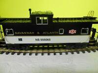 MTH SAVANTA & ATLANTA # 555065 NORFOLK & SOUTHERN HERITAGE SERIES CABOOSE