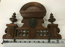 Beautiful Antique Decorative Top For Clock Regulator, Very Good Condition !!!