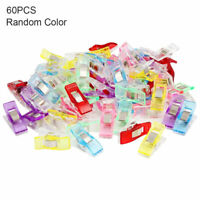 Pack of 60pcs Wonder Clips For Fabric Craft Quilting Knitting Sewing Crochet