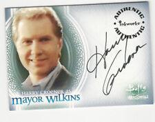 Harry Groener as Mayor Wilkins Buffy Men of Sunnydale Autograph Card Auto #A5