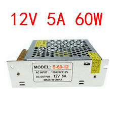 12V 5A LED Strip Power supply 60W led 12vdc Switching power supply, led adapter