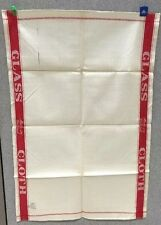 Tea Towel Linen & Cotton Catering Cleaning Union Red Cloth Ireland