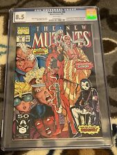 CGC Graded 8.5 The New Mutants #98 (Feb 1991, Marvel) First App Of Deadpool