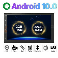 "2Din Universal Android 10 7"" Quad-core Car Stereo Radio GPS RAM 2GB ROM 32GB"