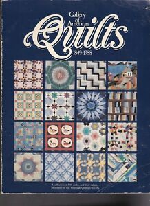 Gallery of American Quilts American Quilters Society Book