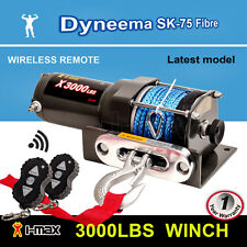 I-Max 12V Wireless 3000LBS / 1361KGS Electric Winch Synthetic Rope ATV 4WD BOAT