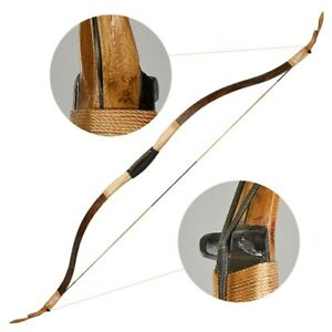 25lbs Traditional Archery Recurve Bow Handmade for Adults/Youth Hunting Shooting