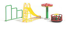 Busch x 4 Playground Accessories 1163 HO Scale (suit OO also)