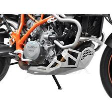 Motorschutz KTM 990 SMT / SMR / 950 SMR LC8 Bj  Aluminium Silber